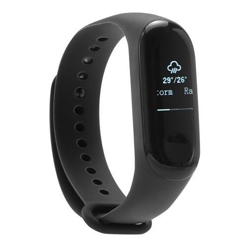 Xiaomi mi Band 3 Smart Bracciale Fitness Tracker cardiofrequenzimetro messaggi istantanei chiamata allarme impermeabile 5 ATM OLED touch screen previsioni meteo 3