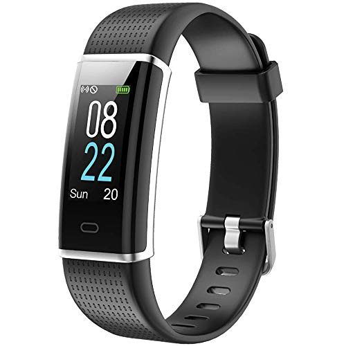 Willful Fitness Tracker Cardiofrequenzimetro da Polso Smartwatch Schermo a Colori Impermeabile IP68 Donna Uomo Orologio Braccialetto Fitness Smart Watch per Samsung iPhone Android iOS Smartphone