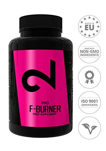 DUAL Pro F-BURNER | Anche Senza Sport | Per Donne E Uomini | 100 Capsule Vegan |Complesso Di Sostanze Attive|Senza Additivi Aggiuntivi|Alte Dosi| 100% Naturale|Per Vegani E Senza Glutine| Made In EU