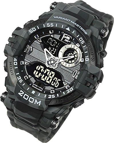 [Lad Weather] orologio militare/200M resistenza all' acqua/all' aperto, sport acquatici, pesca, immersioni, campeggio, escursionismo