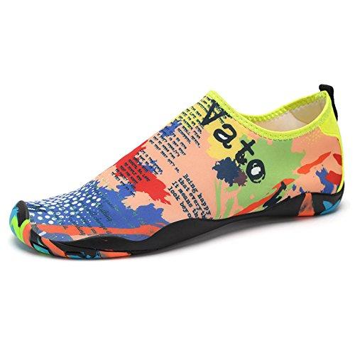 Silver_river Scarpe da scoglio per Uomo e Donna,Aqua calzini per Immersione Nuotare Spiaggia Surf Yoga sport acquatico traspirante Antiscivolo